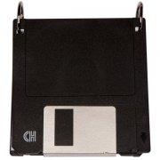 Black Diskette Notebook