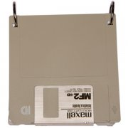 Grey Diskette Notebook